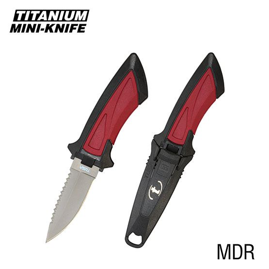 Titanium Mini Knife Point Tip